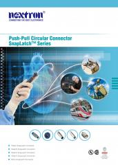Push-Pull Circular Connector SnapLatch Series